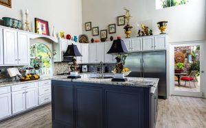 Granite counter tops work