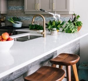 Marble countertops install