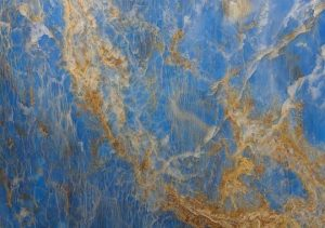 marble countertop blue